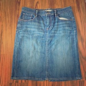 Old Navy Jeans Skirt
